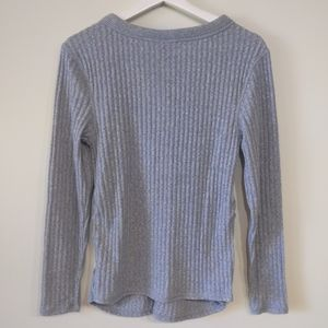 Isabel Maternity by Ingrid & Isabel Tops - NWT Isabel Maternity Long Sleeve Henley Button Tee